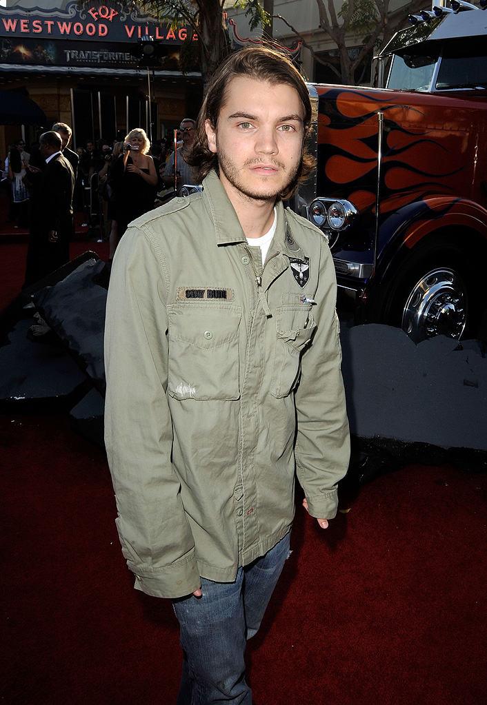 Transformers Revenge of the Fallen LA Premiere 2009 Emile Hirsch