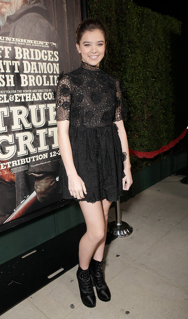 True Grit 2010 LA Screening Hailee Steinfeld