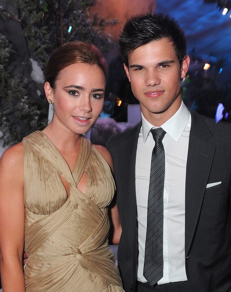 The Twilight Saga Eclipse LA Premiere 2010 Taylor Lautner Lily Collins