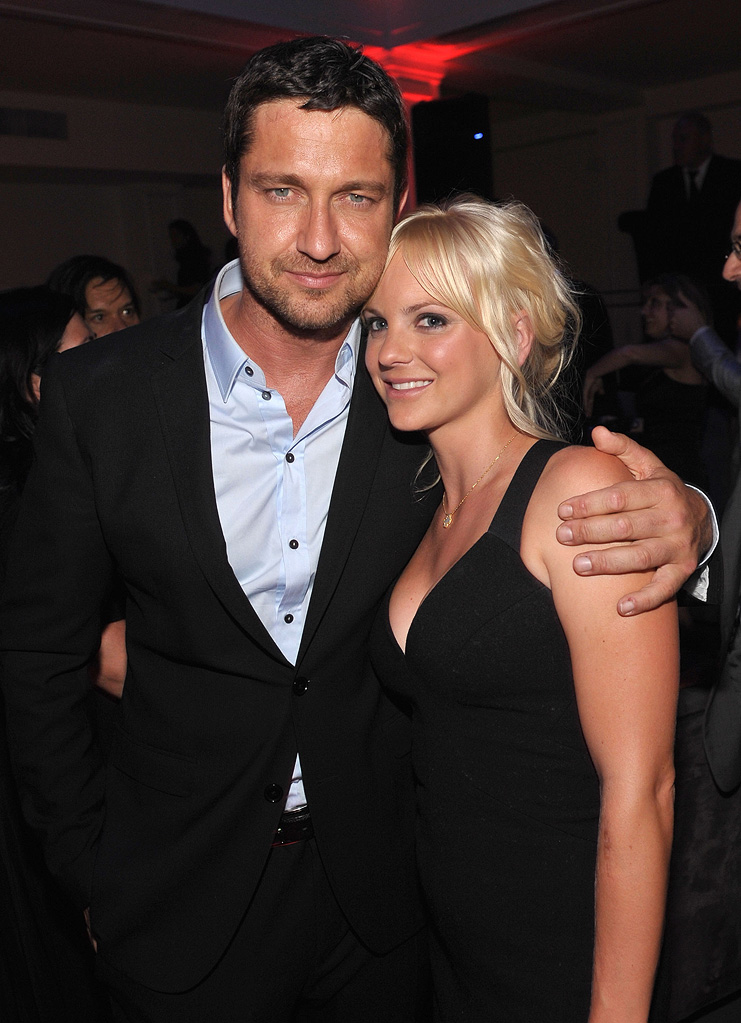 The Ugly Truth LA Premiere 2009 Gerard Butler Anna Faris