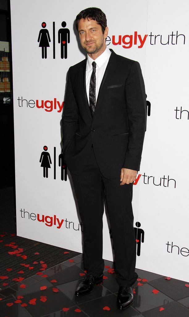 The Ugly Truth London Premiere 2009 Gerard Butler