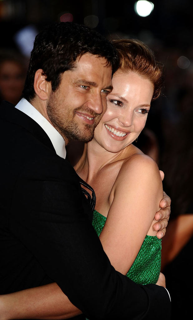 The Ugly Truth London Premiere 2009 Gerard Butler and Katherine Heigl