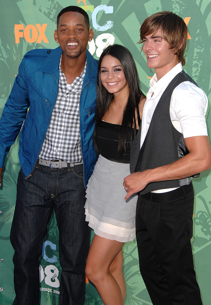 Vanessa Hudgens Will Smith Zac Efron