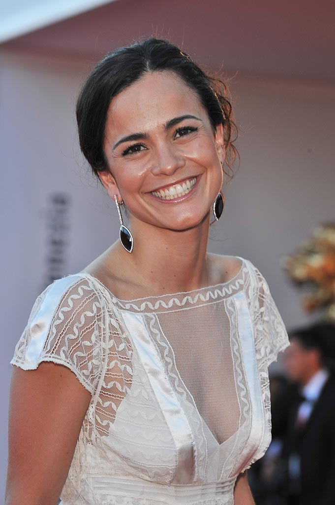 Venice Film Festival Burn After Reading Premiere 2008 Alice Braga