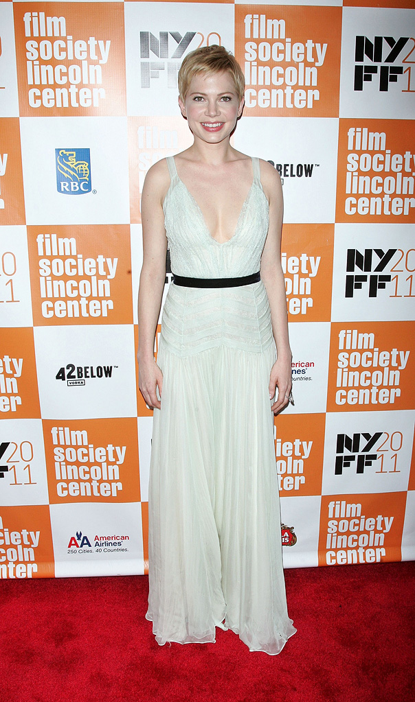 my week with Marilyn NY Premiere 2011 Michelle Williams