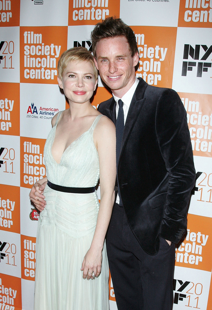 my week with Marilyn NY Premiere 2011 Michelle Williams Eddie Redmayne