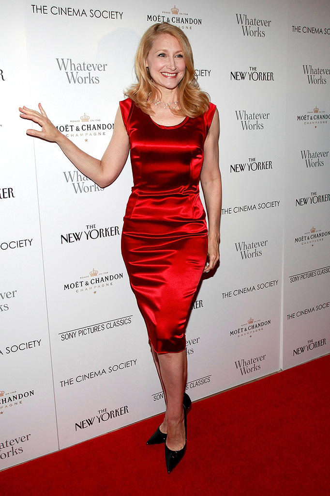 Whatever Works NY Screening 2009 Patricia Clarkson
