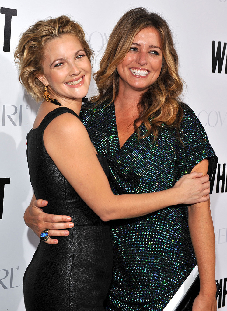 Whip It LA Premiere 2009 Drew Barrymore Nancy Juvonen