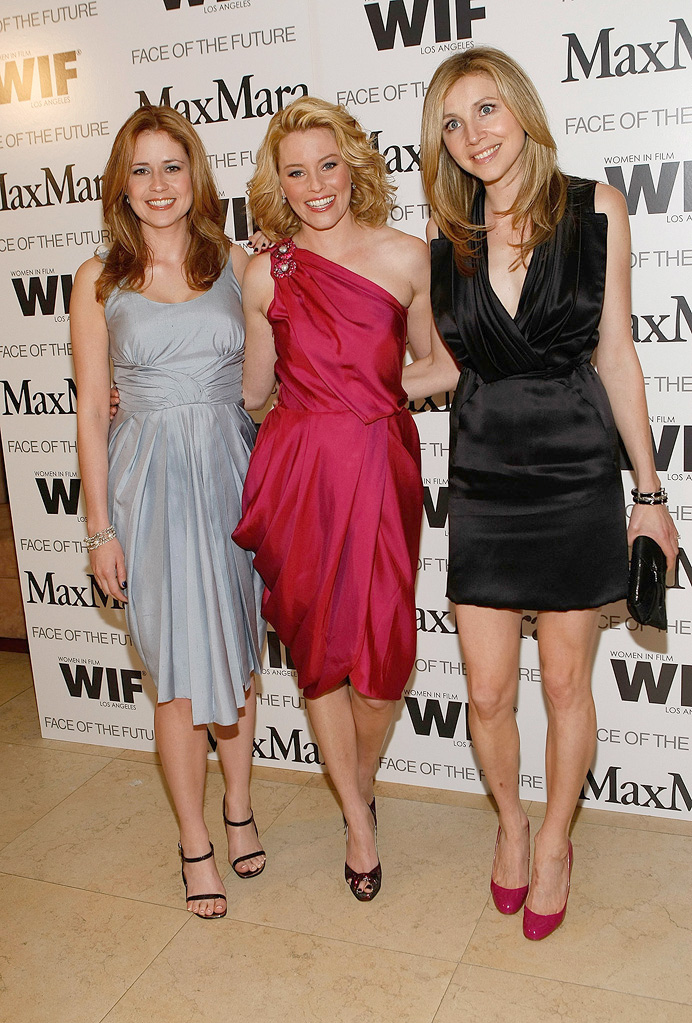 Women In Film Party 2009 Jenna Fischer Elizabeth Banks Sarah Chalke