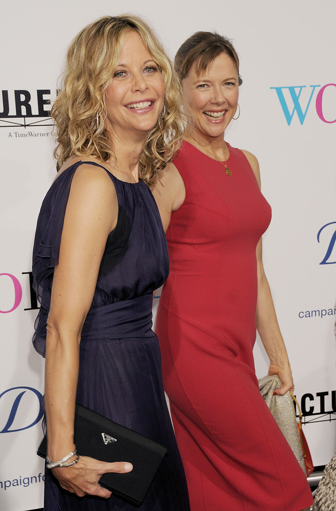 The Women LA Premiere 2008 Meg Ryan Annette Bening