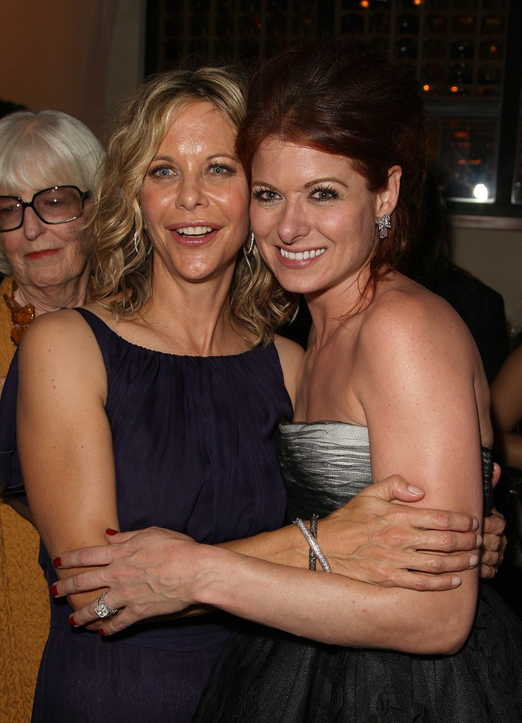 The Women LA Premiere 2008 Meg Ryan Debra Messing