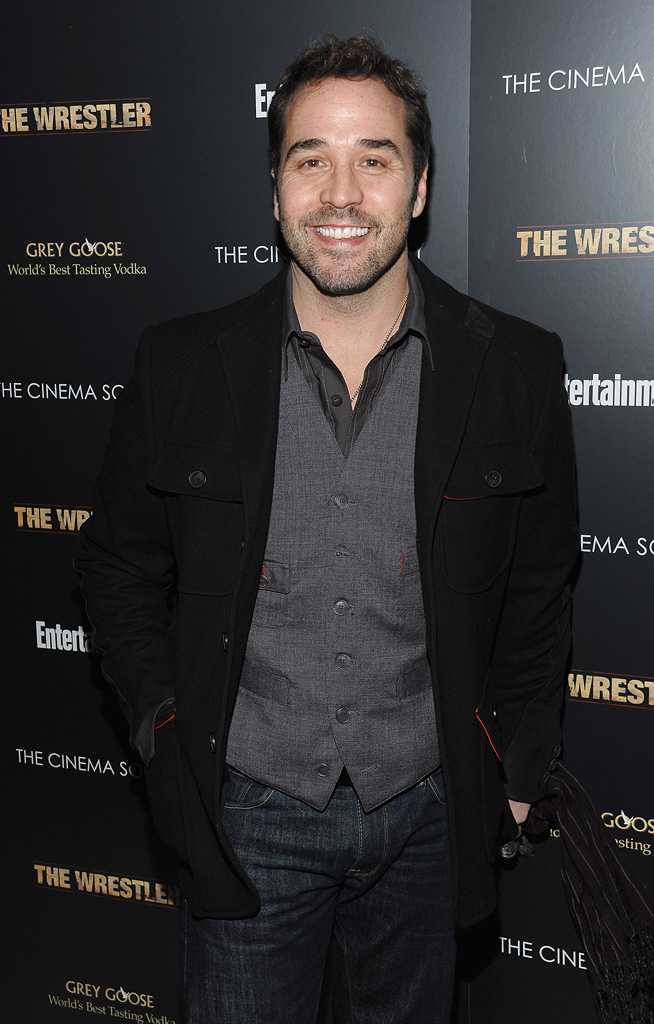 The Wrestler NY Screening 2008 Jeremy Piven