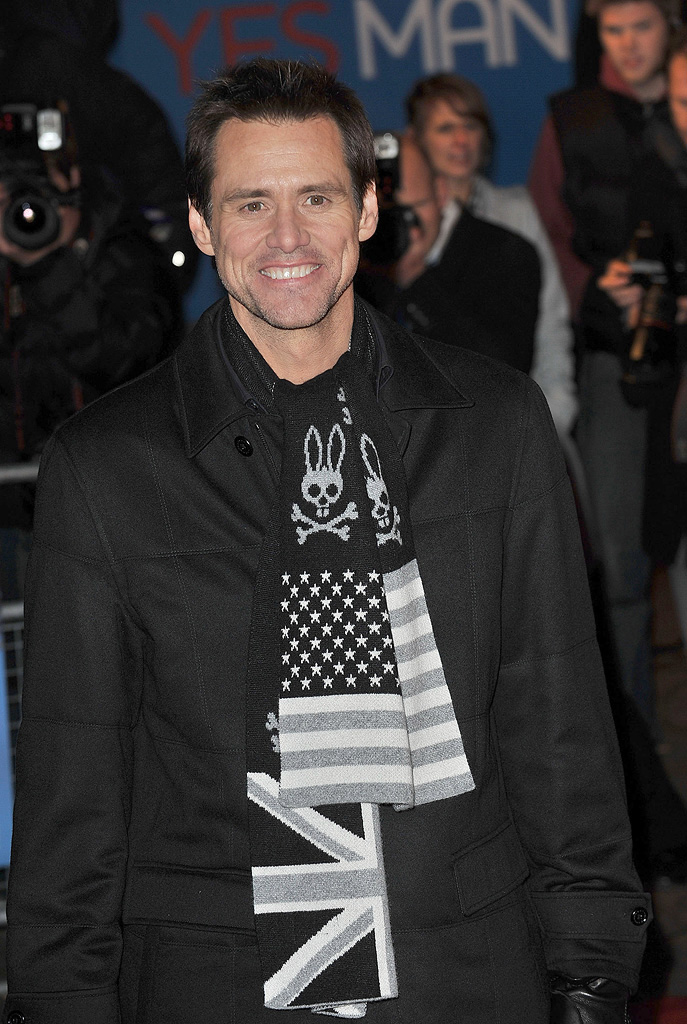 Yes Man UK premiere 2008 Jim Carrey
