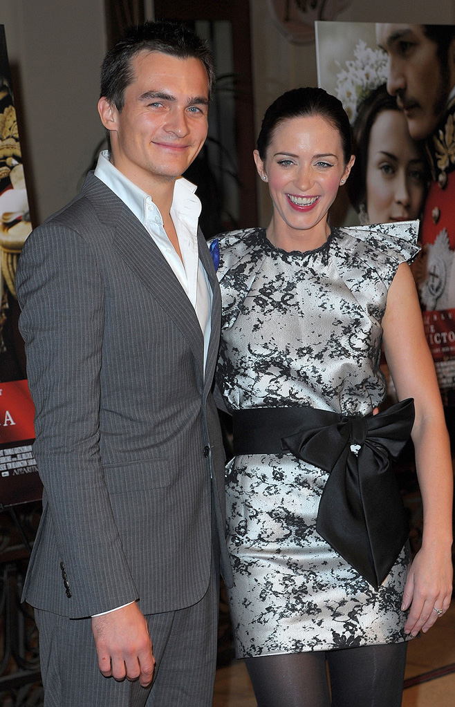 The Young Victoria LA Premiere 2009 Rupert Friend Emily Blunt