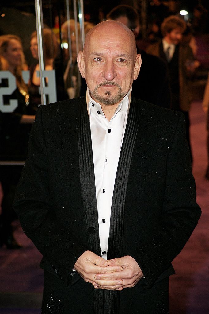The Young Victoria UK Premiere 2009 Sir Ben Kingsley