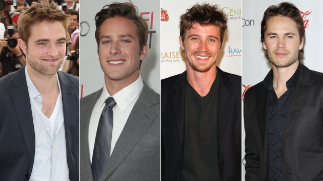 Robert Pattinson,Armie Hammer, Garrett Hedlund and Taylor Kitsch -- Getty Images