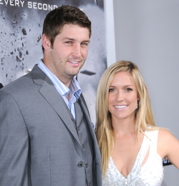Jay Cutler and Kristin Cavallari arrive at the Los Angeles premiere of &quot;Source Code&quot; held at ArcLight Cinemas Cinerama Dome in Hollywood, Calif. on March 28, 2011