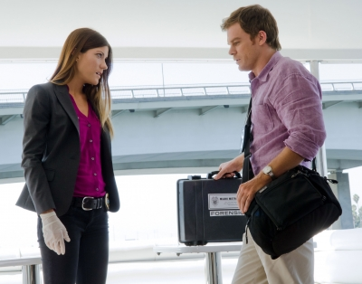 Dexter and Debra Morgan romance