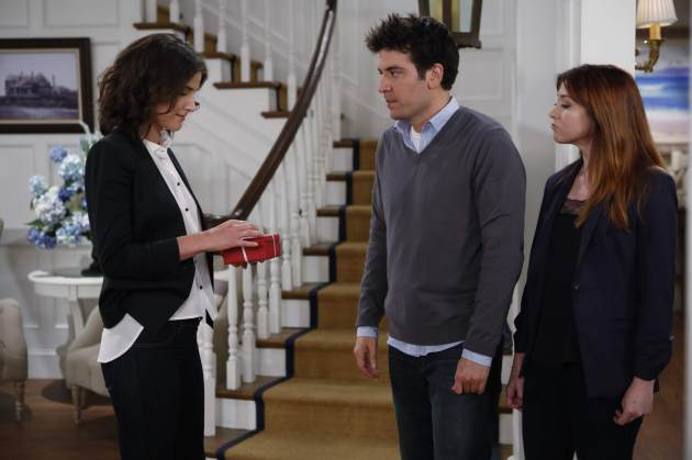 'How I Met Your Mother' - Cobie Smulders, Josh Radnor, Alyson Hannigan -- CBS