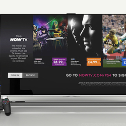 Now TV arrives on the PlayStation 4 today, Xbox One in the coming weeks