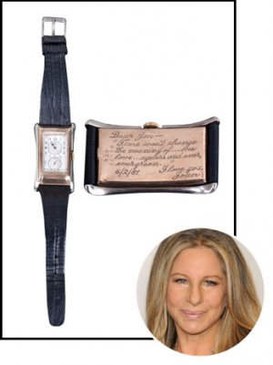 Barbra Streisand's Rolex Gift to Jon Peters is for Sale