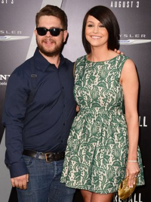 Jack Osbourne Shows Off New Wife