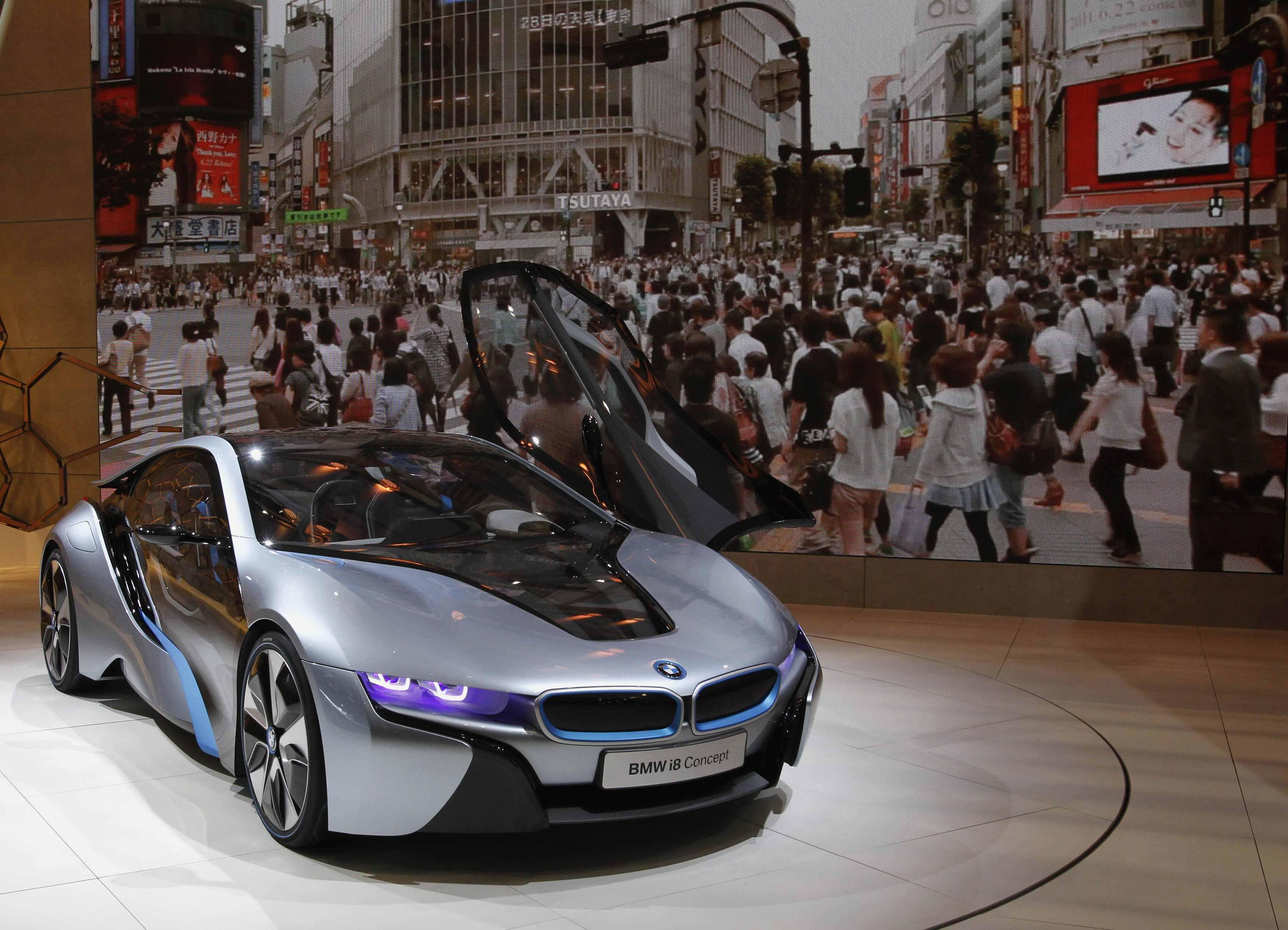 BMW's i8 Concept car