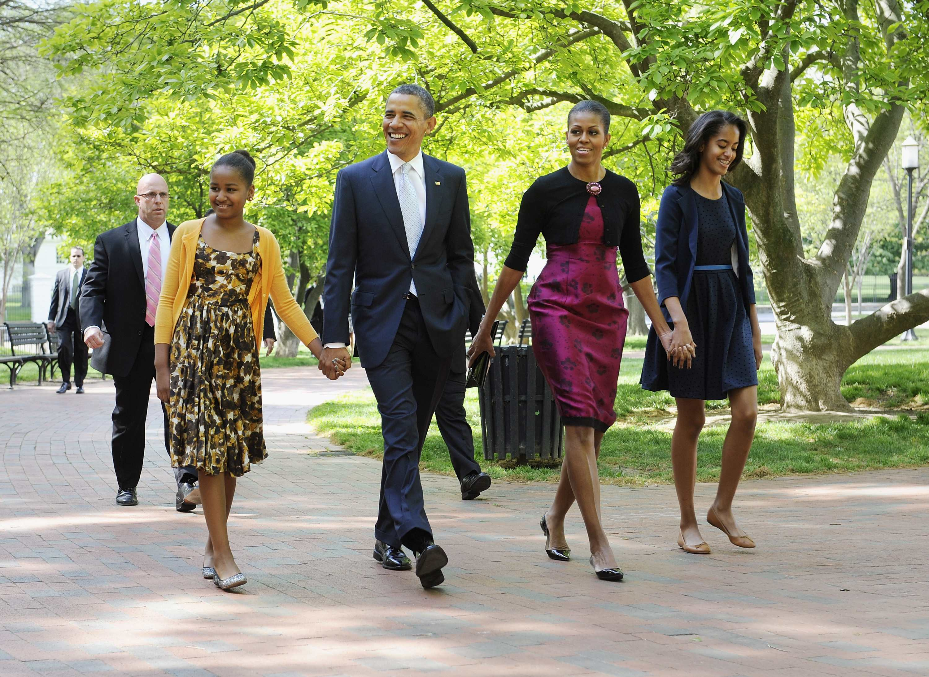 The Ceaseless Beauty Of An African American Family In White House