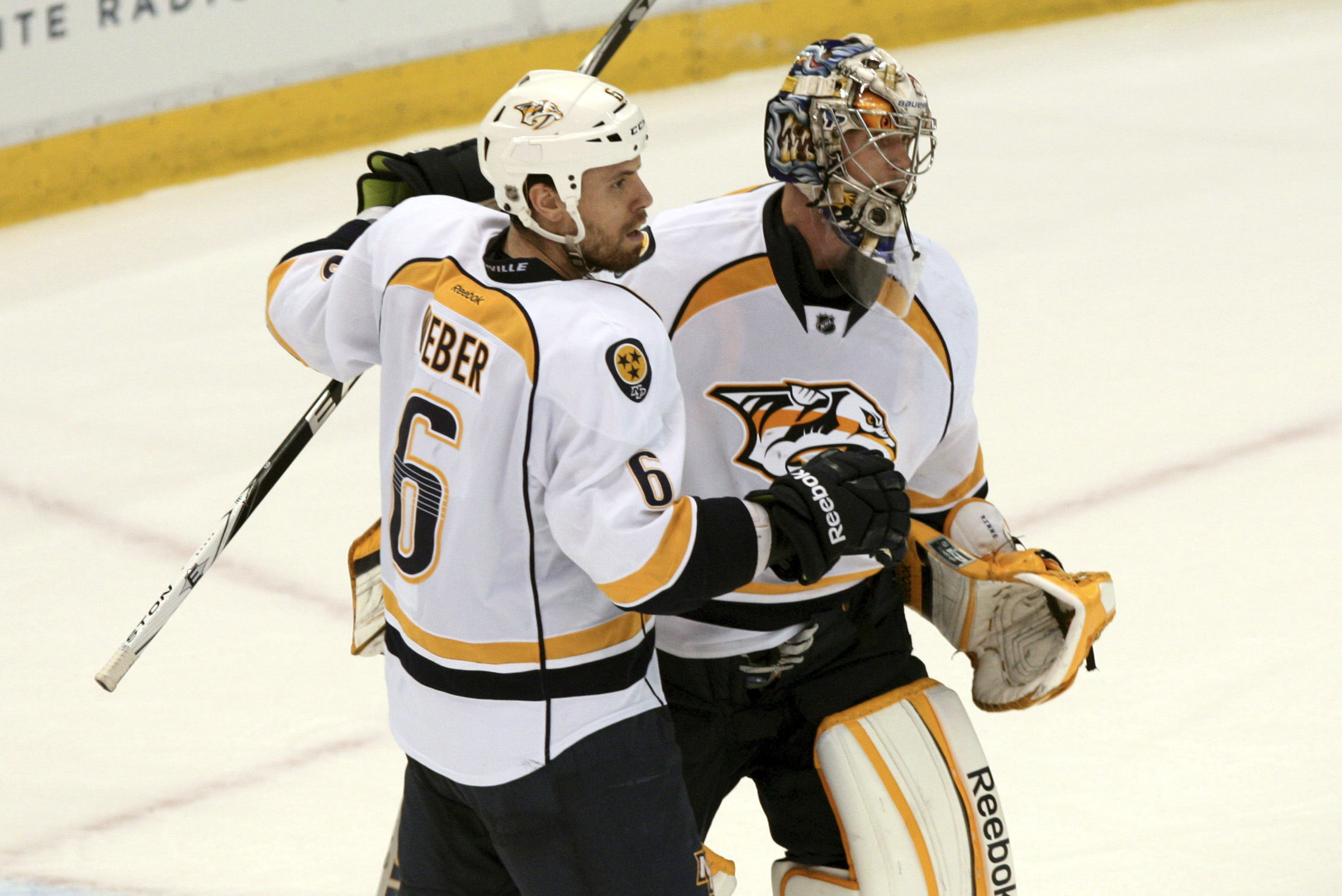 Shea Weber delivered another scary-good performance for the Predators in Game 3.