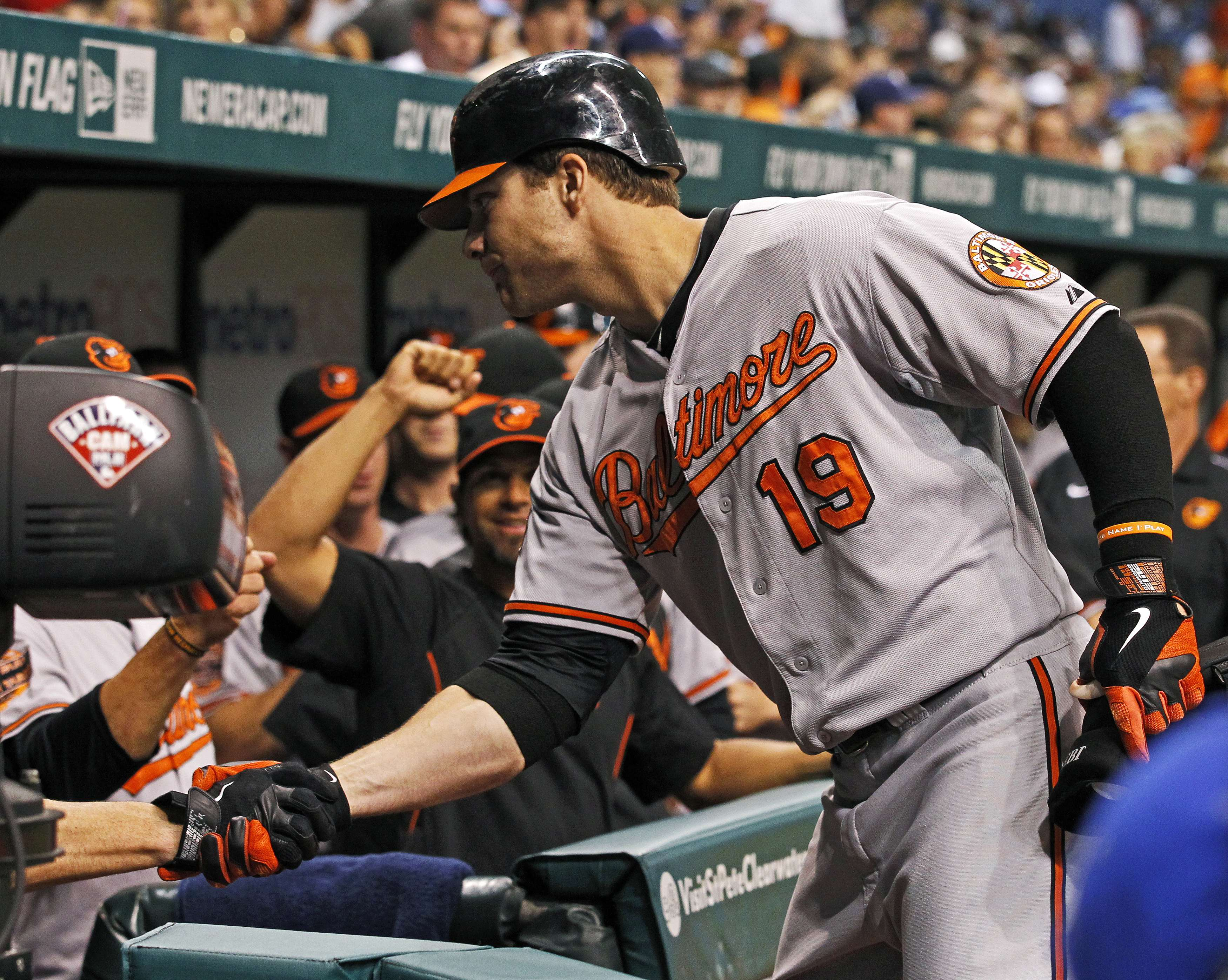 Chris Davis' mammoth home run was the difference in Baltimore's win Tuesday. (Reuters)