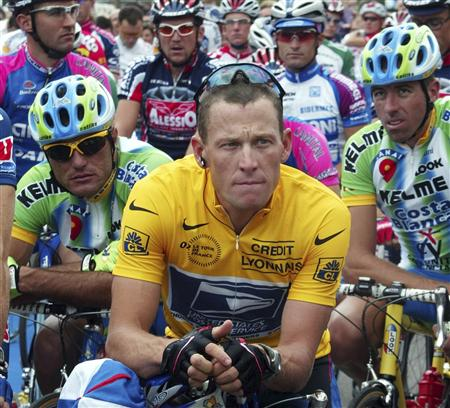 Lance Armstrong was stripped of his seven Tour de France titles and banned for life by the UCI. (Reuters file)