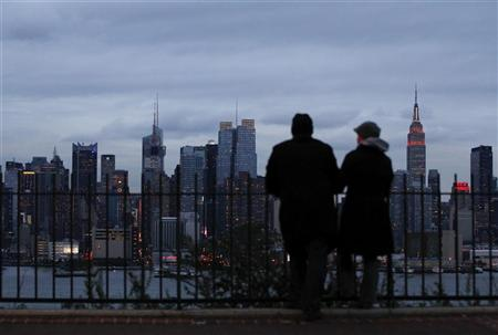 Manhattan. REUTERS/Gary Hershorn
