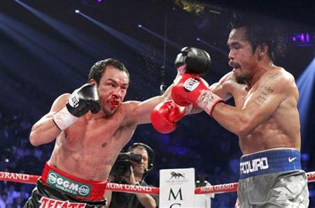 Juan Manuel Marquez defeated Manny Pacquiao in their fourth bout on Dec. 8. (Getty Images)