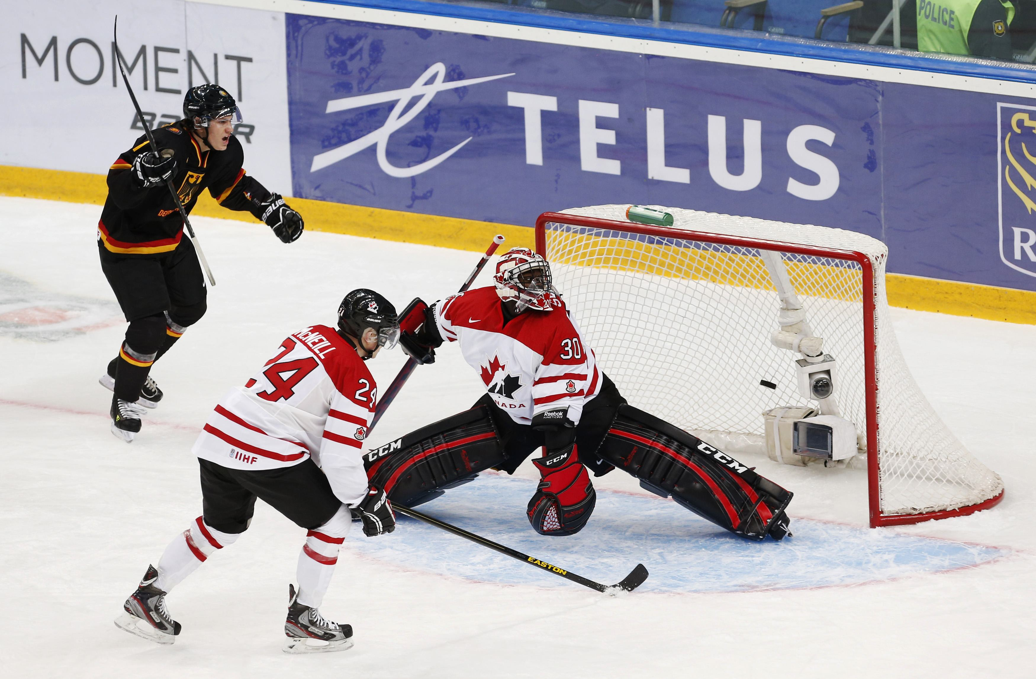 Malcolm Subban has been given the starting job in Team Canada's net. (Reuters)