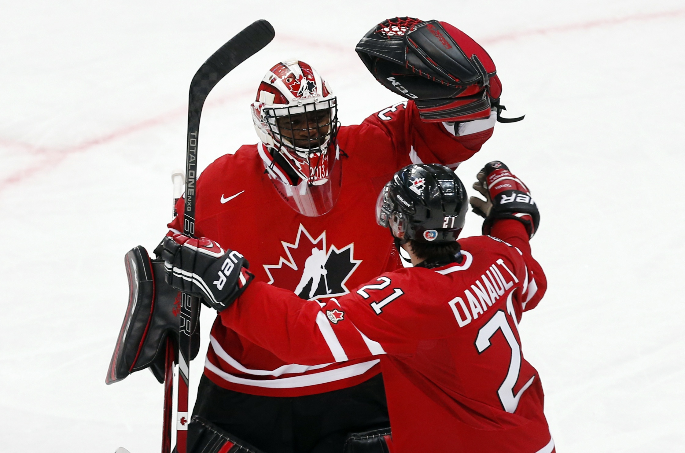 Canada's Malcolm Subban turned in his best game in beating Team USA. (Reuters)