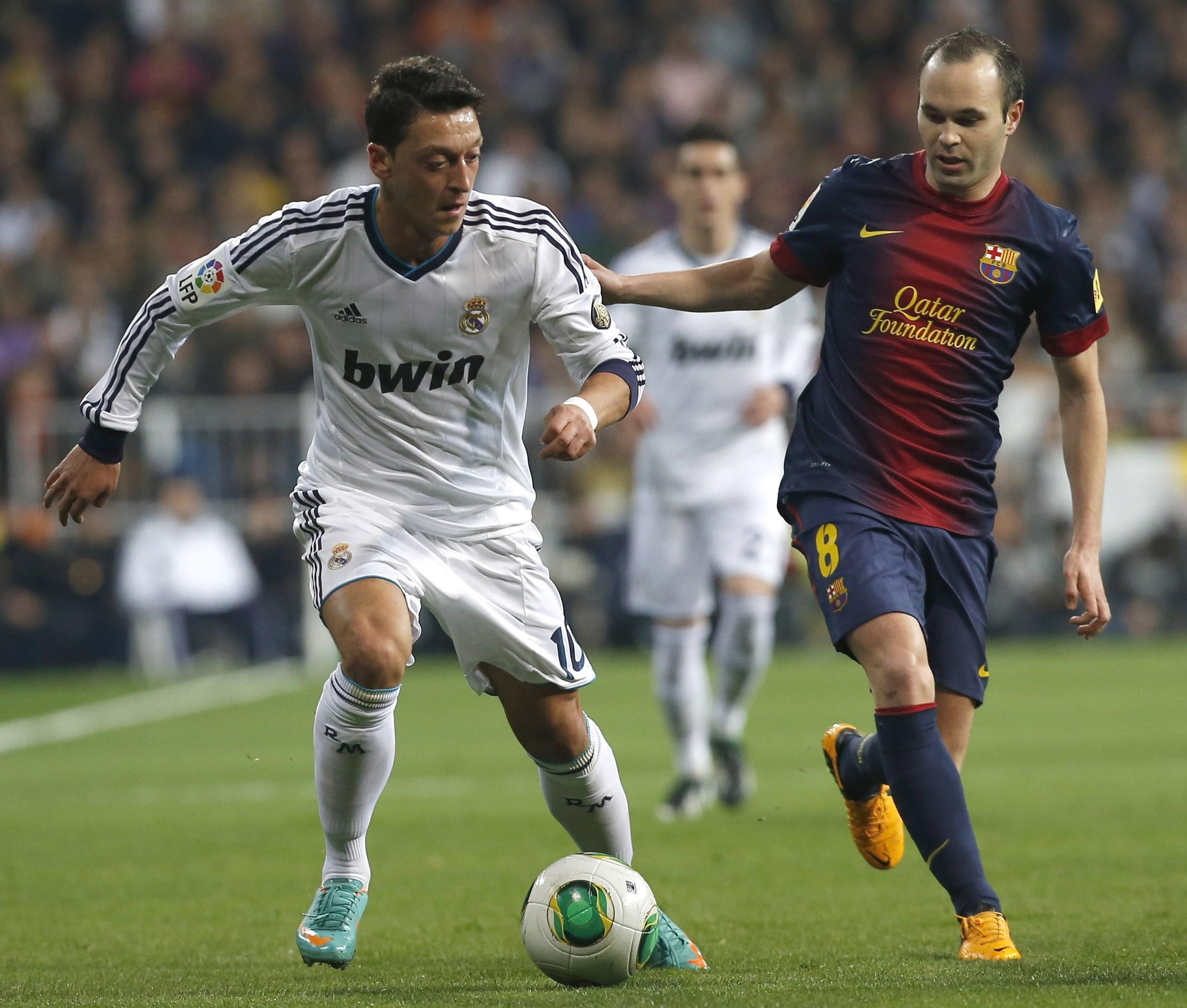 Resultado de imagen para Ozil vs barcelona