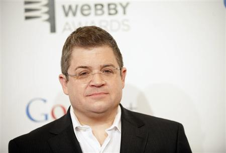 Comedian Patton Oswalt attends the 16th annual Webby Awards in New York May 21, 2012. REUTERS/Stephen Chernin