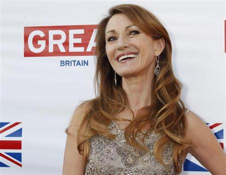 "Actress Jane Seymour, who played Bond girl Solitaire in the 1973 film ""Live and Let Die"", arrives at the Great British Film Reception to honor the British Oscar nominees at the residence of the British Consul-General in Los Angeles February 22, 2013. REUTERS/Fred Prouser"