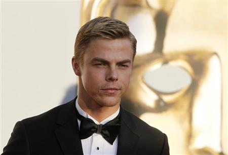 Dancer Derek Hough arrives at the BAFTA Brits to Watch event in Los Angeles, California July 9, 2011. Prince William and his wife Catherine are on a royal visit to California from July 8 to July 10. REUTERS/Fred Prouser