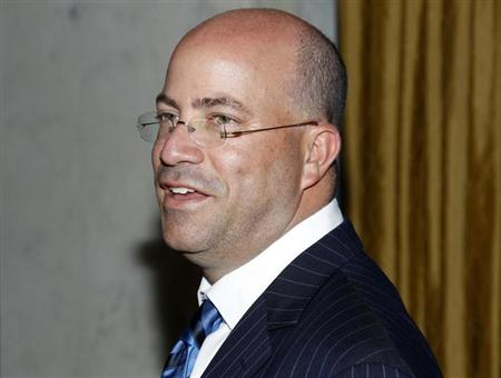 President and Chief Executive Officer of NBC Universal Jeff Zucker arrives at the Simon Wiesenthal Center's 2010 Humanitarian Award Ceremony honoring producer Brian Grazer and director Ron Howard in Beverly Hills, California May 5, 2010. REUTERS/Danny Moloshok