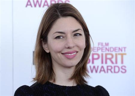 Presenter Sofia Coppola arrives at the 2013 Film Independent Spirit Awards in Santa Monica, California February 23, 2013. REUTERS/Phil McCarten