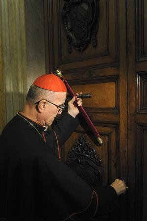 cardinals begin long process of picking new pope