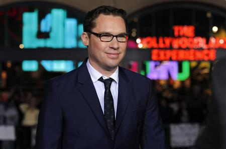 Director of the movie Bryan Singer poses at the premiere of &quot;Jack the Giant Slayer&quot; in Hollywood, California February 26, 2013. REUTERS/Mario Anzuoni
