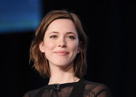 "British actress Rebecca Hall takes part in a panel discussion of HBO's ""Parade's End"" during the 2013 Winter Press Tour for the Television Critics Association in Pasadena, California, January 4, 2013. REUTERS/Gus Ruelas"
