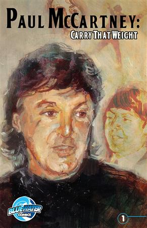 The cover of the comic book Paul McCartney: Carry That Weight is shown in this handout courtesy of Bluewater Productions. McCartney&#39;s life has become the subject of a new comic book. REUTERS/Bluewater Productions/Handout