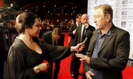 Tribeca Film Festival co-founder Robert De Niro attends the opening night ceremony and gala screening of &quot;The Reluctant Fundamentalist&quot; during the 2012 Doha Tribeca Film Festival at Al Mirqab Hotel in Doha November 17, 2012. REUTERS/Mohammed Dabbous