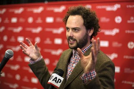 Director Drake Doremus arrives for the premiere of the film &quot;Breathe In&quot; at the Sundance Film Festival in Park City, Utah, January 19, 2013. REUTERS/Lucas Jackson