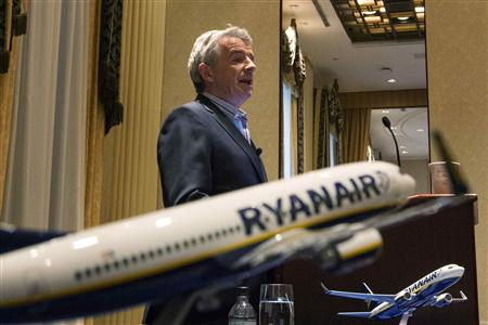 Chief Executive Officer of Ryanair Michael O'Leary. REUTERS/Lucas Jackson