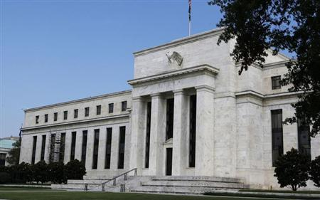 The Federal Reserve building. REUTERS/Larry Downing