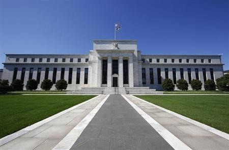 The U.S. Federal Reserve building is seen in Washington. REUTERS/Jim Bourg